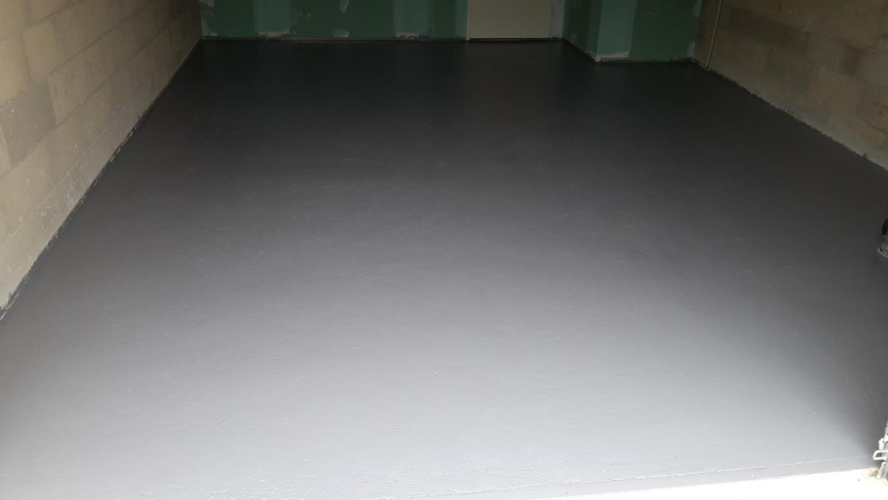 peinture époxy garage