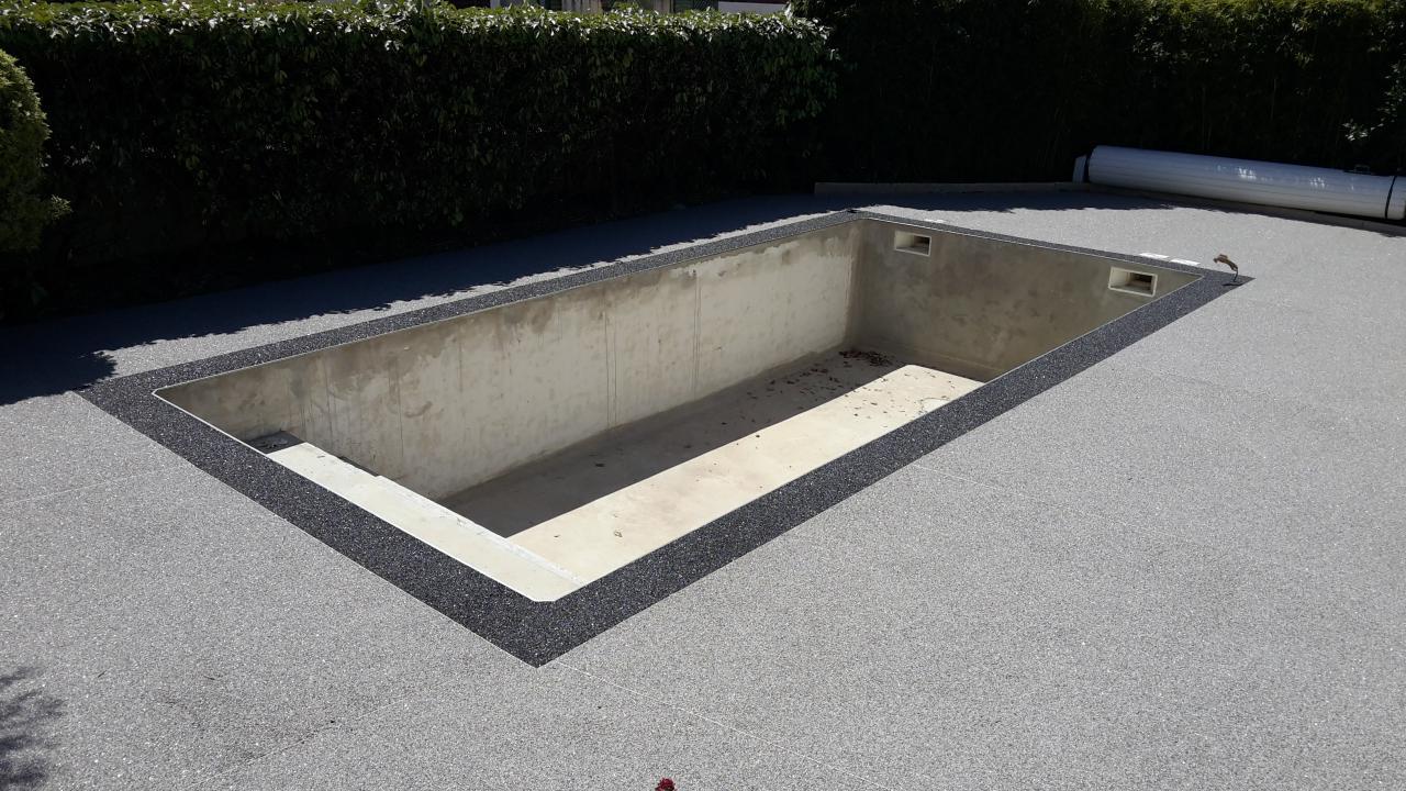 plage de piscine