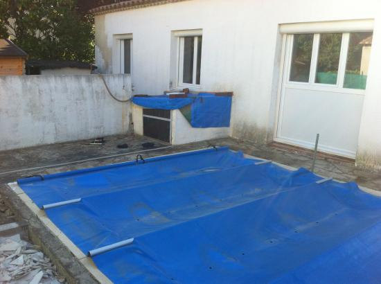 Plage de piscine (avant)