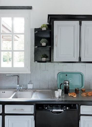 Peinture pour meubles de cuisine photo apres