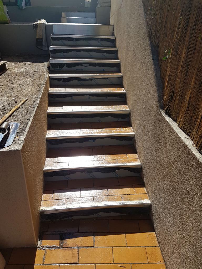 Escalier perméable