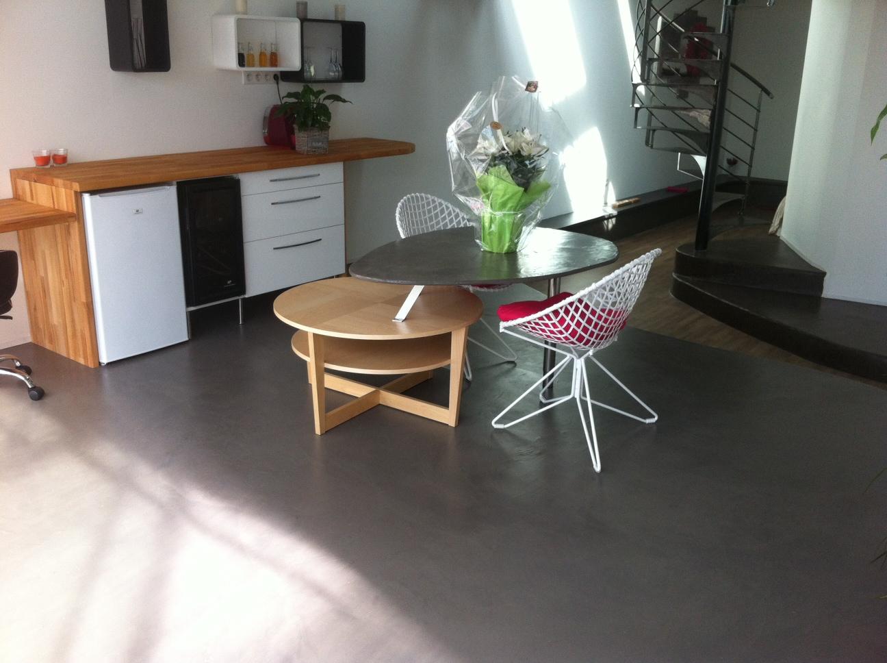 Enduit decoratif resine epoxy for Resine epoxy pour beton